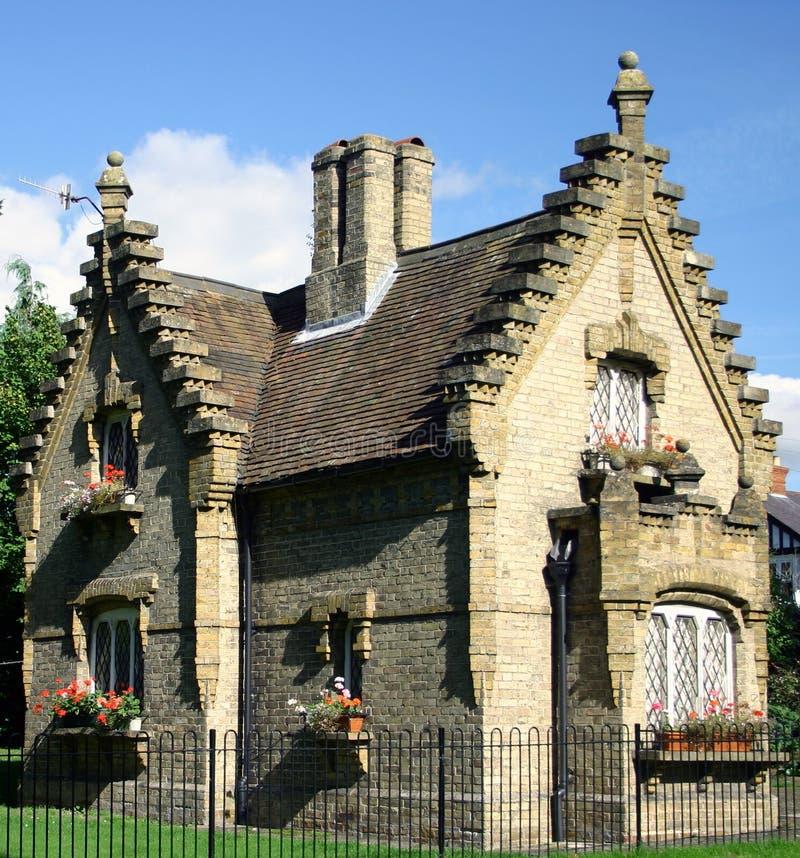 Casa de campo do Gatehouse fotos de stock royalty free