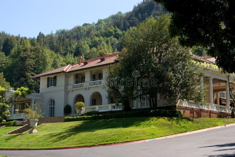 Casa de campo em Califórnia imagem de stock royalty free