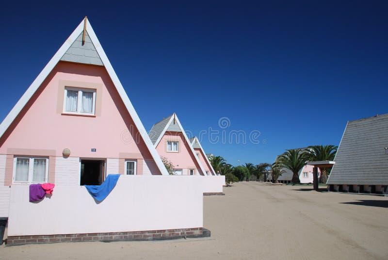 Casa de campo en Namibia fotografía de archivo