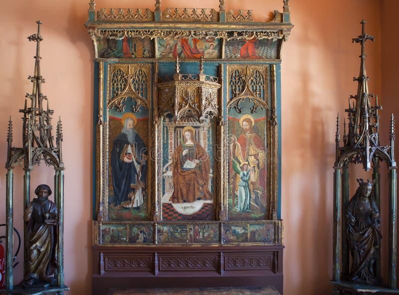 Casa de campo Ephrussi de Rothschild, Saint Jean capFerrar, França imagem de stock royalty free