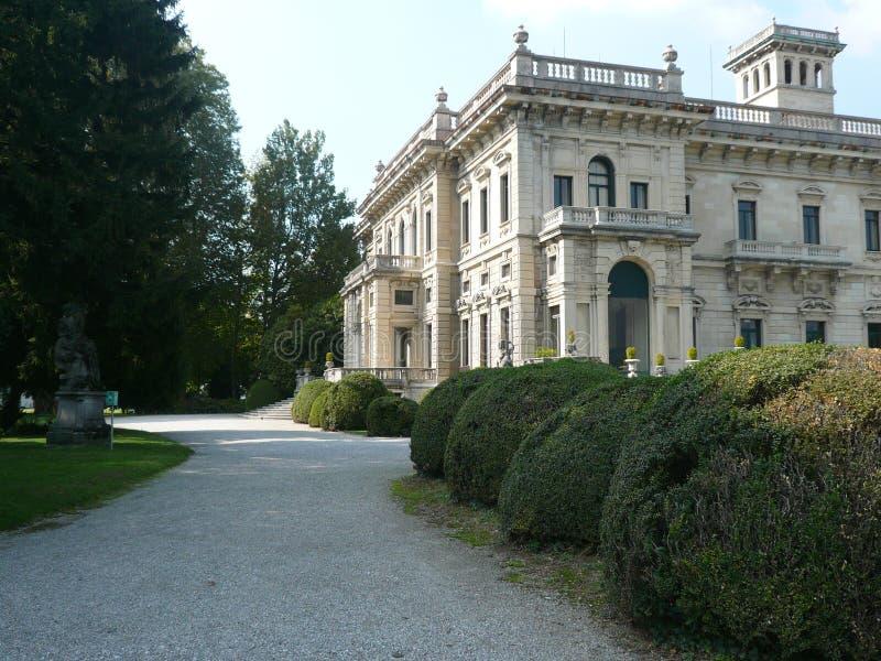 Casa de campo Erba, Cernobbio, Itália fotografia de stock