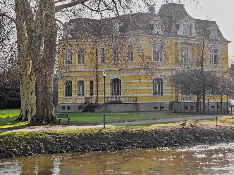 Casa de campo Erckens em Gervenbroich em Alemanha fotografia de stock