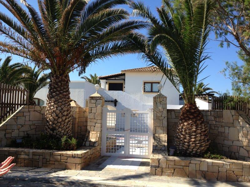 Casa de campo grega fotos de stock