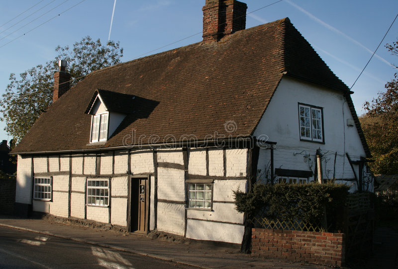 Casa de campo histórica da vila fotos de stock royalty free