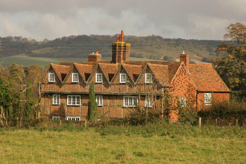 Download Casa de campo inglesa foto de stock. Imagem de inglês, charming - 54378