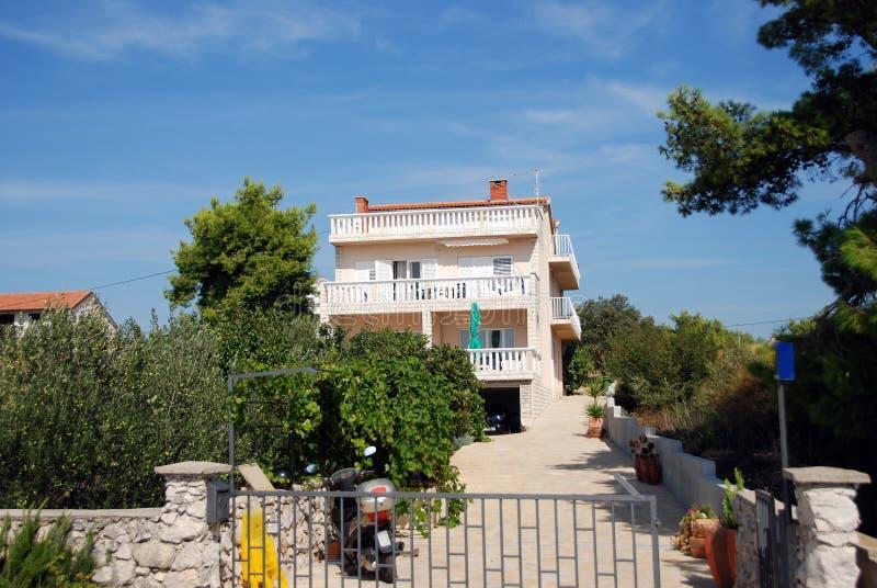 Casa de campo mediterrânea imagens de stock royalty free