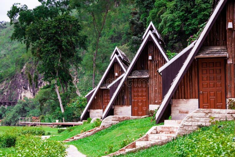 Casa de campo na selva foto de stock royalty free