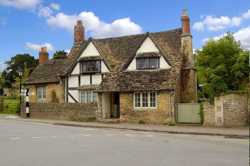 Casa de campo na vila de Lacock fotografia de stock royalty free