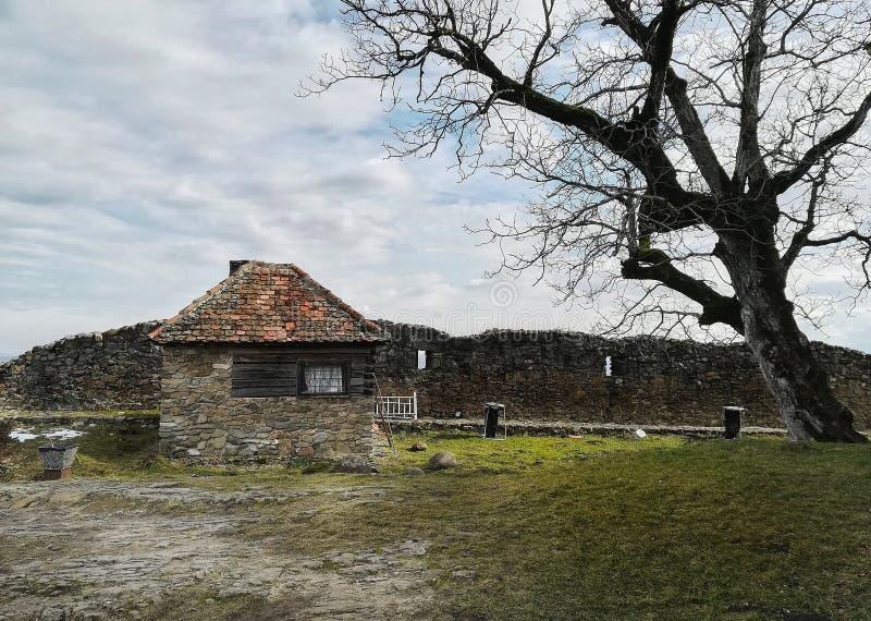 Casa de campo para dentro foto de stock