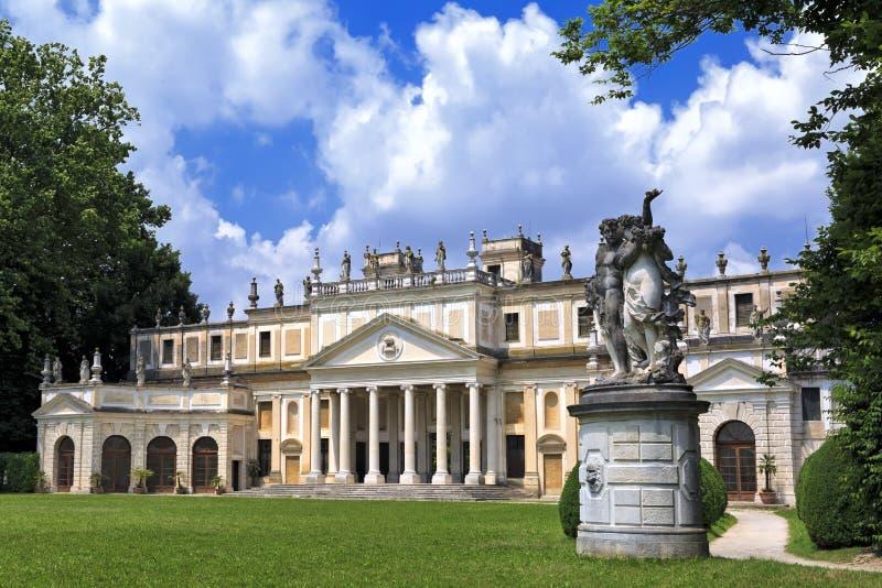 Casa de campo Pisani, casas de campo venetian famosas na região de Vêneto (Itália) imagem de stock royalty free