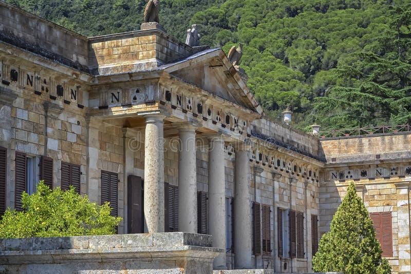 Casa de campo San Martino, a Ilha de Elba imagem de stock royalty free