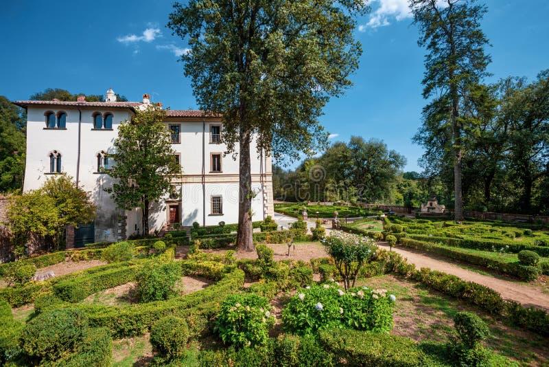 Casa de campo Savorelli, início do século XVIII Sutri, Itália foto de stock royalty free