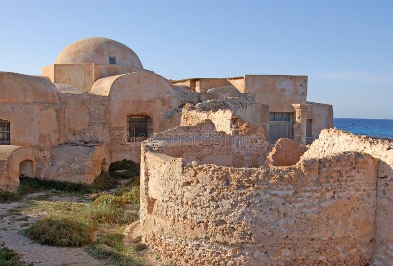 Casa de campo Sileen, Líbia foto de stock
