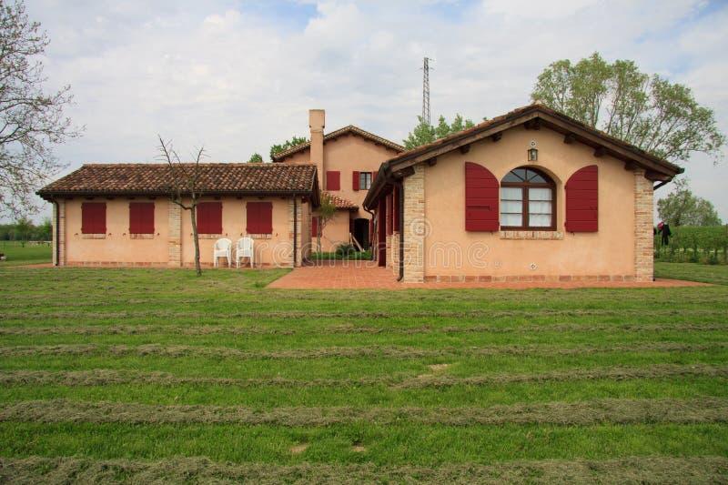 Casa de campo veneciana foto de archivo libre de regalías