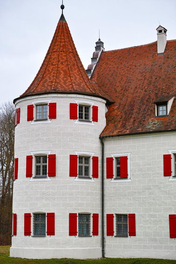 Casa de cazadores histórica Grunau fotografía de archivo libre de regalías