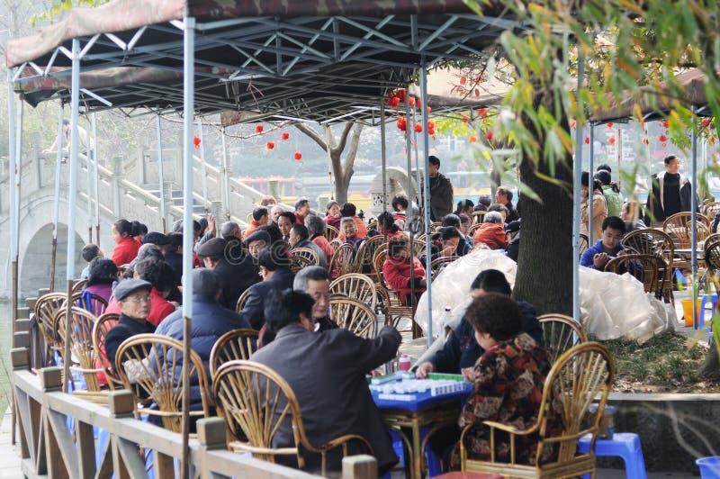 Casa de chá chinesa em soundays foto de stock royalty free