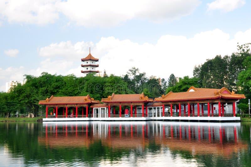 Download Casa de chá, jardim chinês imagem de stock. Imagem de vista - 16869469