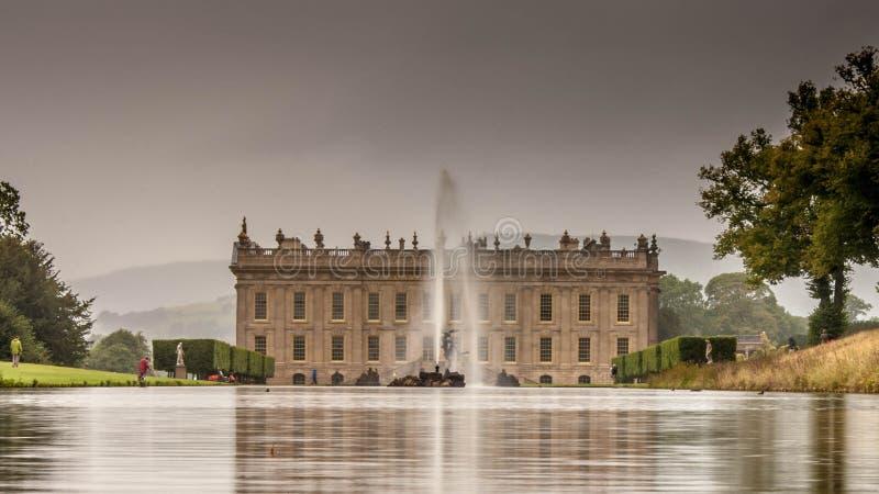 Casa de Chatsworth fotografía de archivo