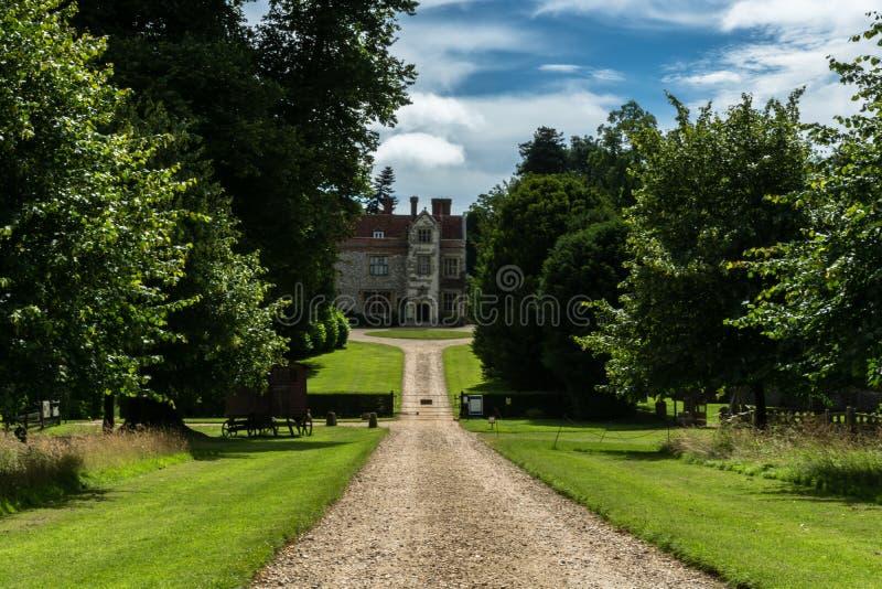 Casa de Chawton, Hampshire, Inglaterra fotografía de archivo libre de regalías
