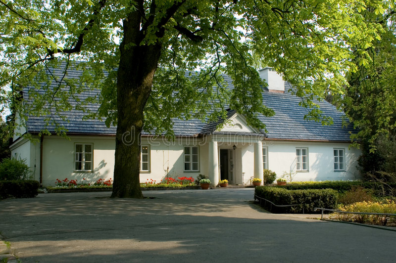 Casa de Chopin imagens de stock royalty free