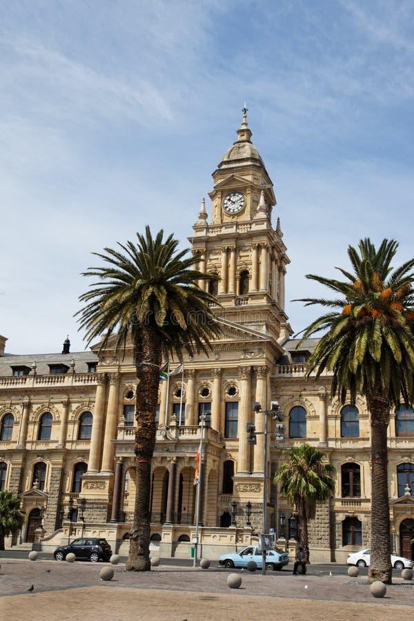 Casa de cidade de Capetown fotografia de stock