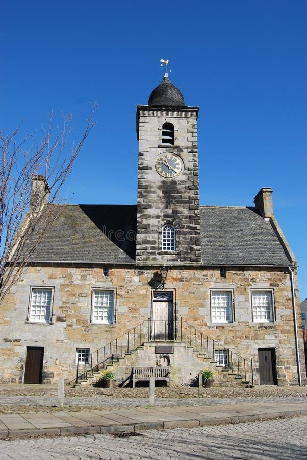 Casa de ciudad de Culross fotografía de archivo