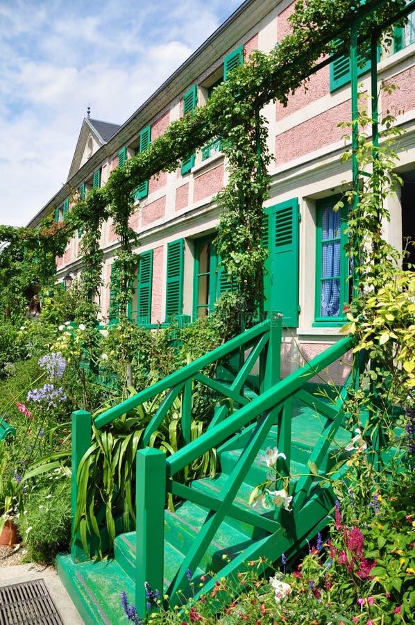 Casa de Claude Monet en Giverny imagen de archivo libre de regalías