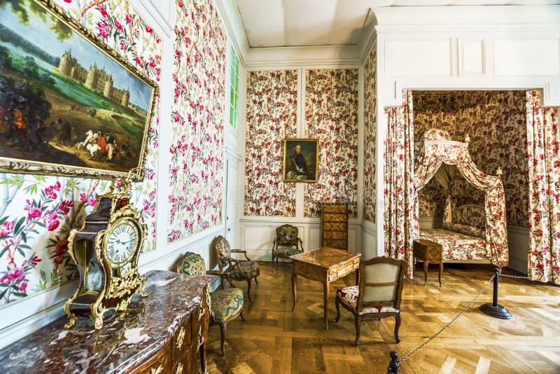 Casa de Claude Monet que visita imagen de archivo