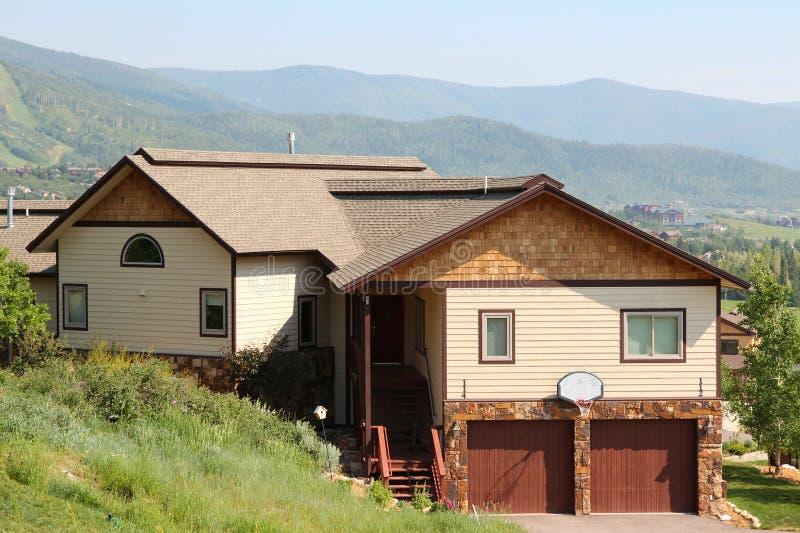 Casa de Colorado fotos de stock royalty free