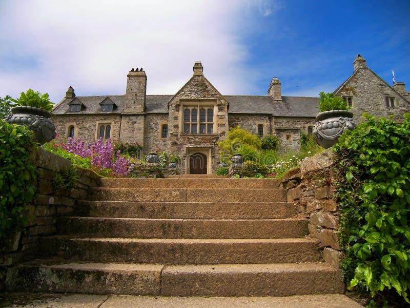 Casa de Cotehele foto de stock royalty free