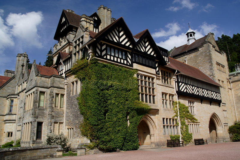Casa de Cragside imagen de archivo