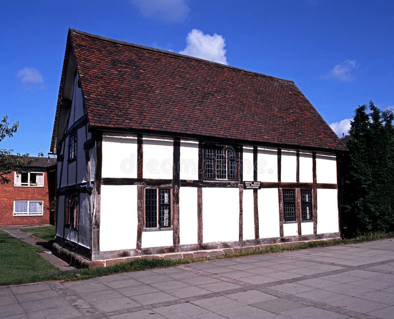 Casa de Cruck, Lichfield fotografia de stock