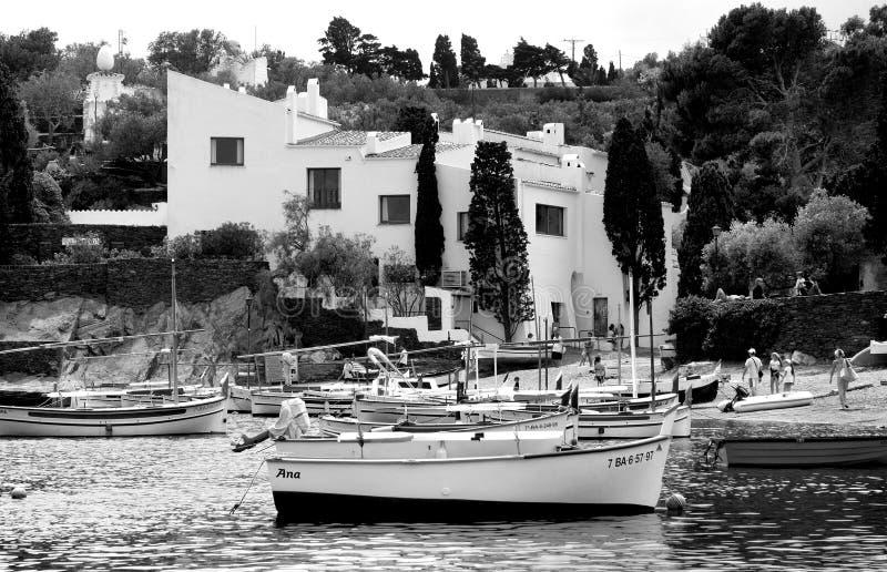 Casa de Dali Port Lligat Spain imagen de archivo