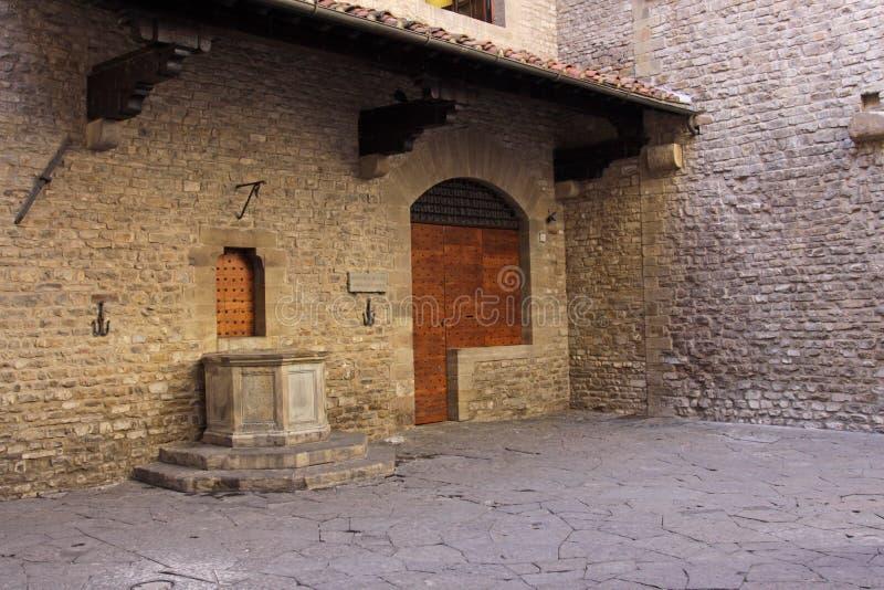 Casa de Dante fotografía de archivo libre de regalías