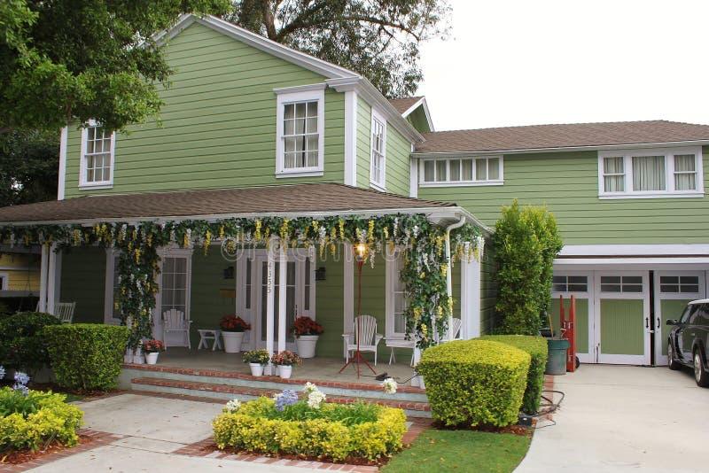 Casa de Desperate Housewives fotografía de archivo