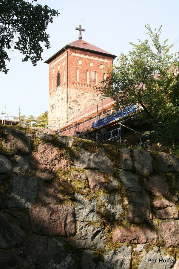 Casa de dioses en Arboga foto de archivo libre de regalías