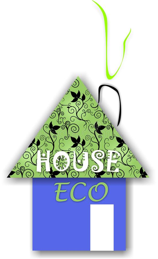 Download Casa de Eco ilustração stock. Ilustração de holding, negócio - 29825633