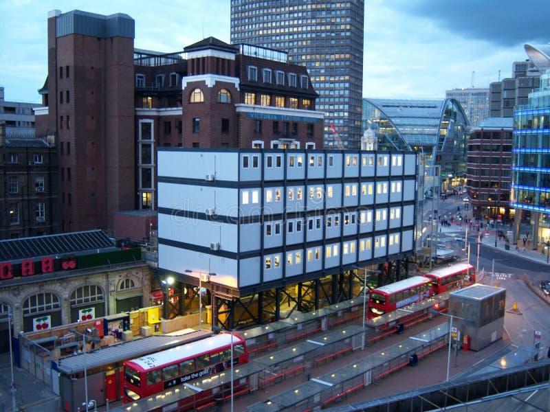 Casa de estação de Victoria em Londres fotos de stock royalty free