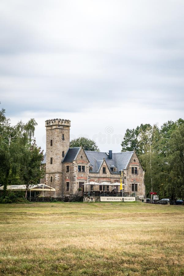 Casa de ferris Kleinzschachwitz foto de archivo libre de regalías