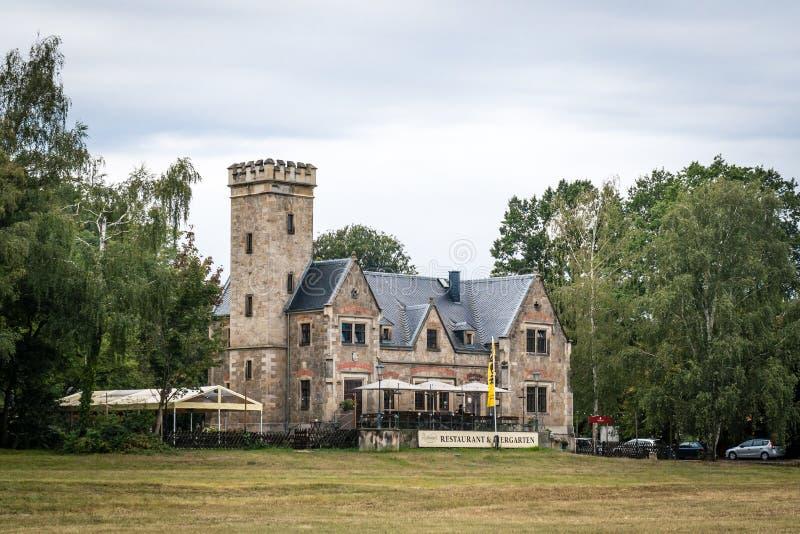 Casa de ferris Kleinzschachwitz fotografía de archivo