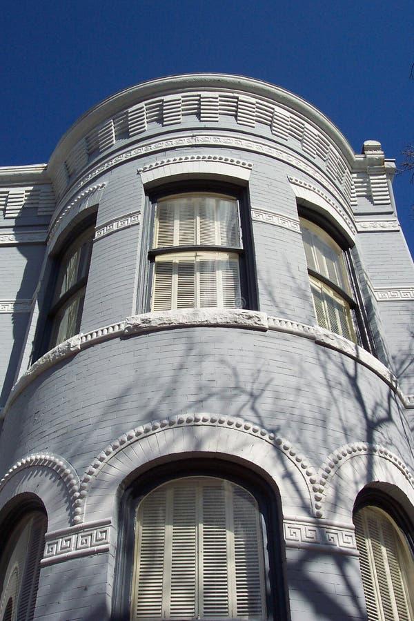 Casa de fila de Georgetown imagen de archivo