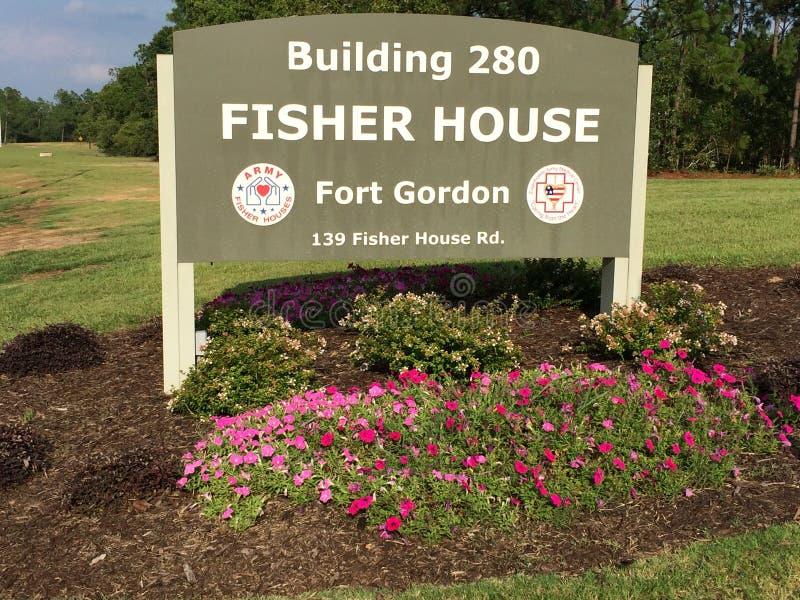 Casa de Fisher imagen de archivo