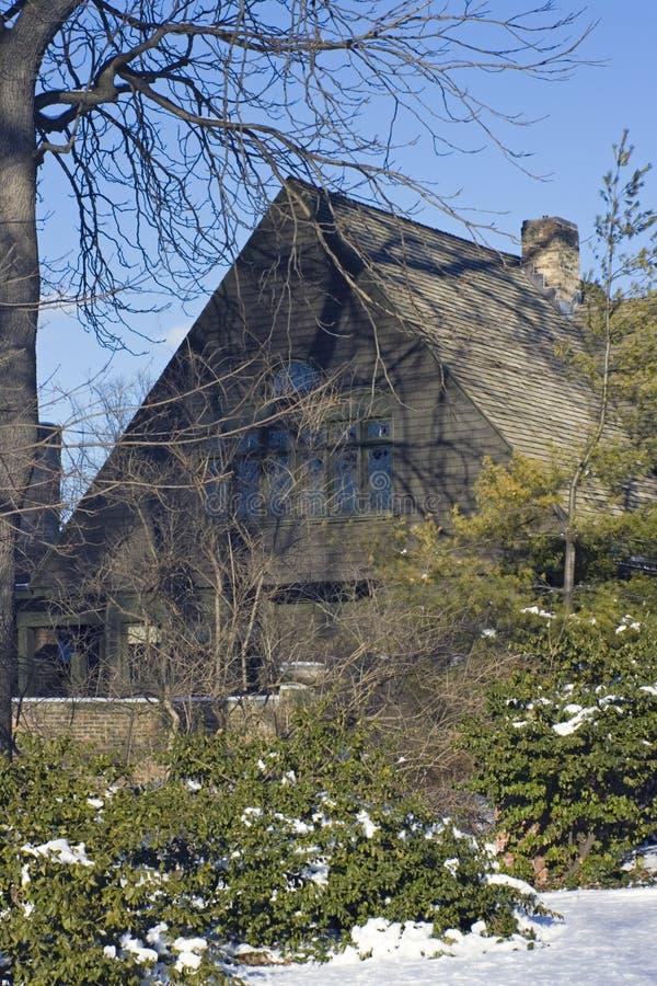 Casa de Frank Lloyd fotos de stock royalty free