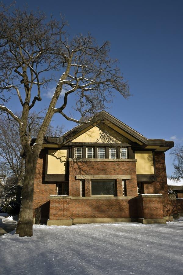Casa de Frank Lloyd fotos de stock