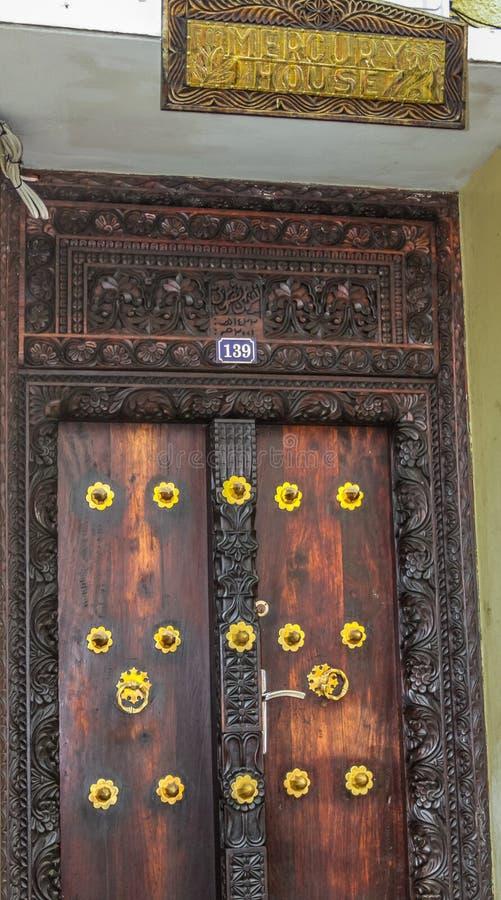 Casa de Freddie Mercury na cidade de pedra, Zanzibar imagem de stock