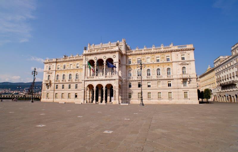 Casa de Governament em Trieste foto de stock royalty free