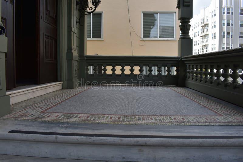 A casa de Haas-Lillienthal e o museu históricos, 2 imagens de stock