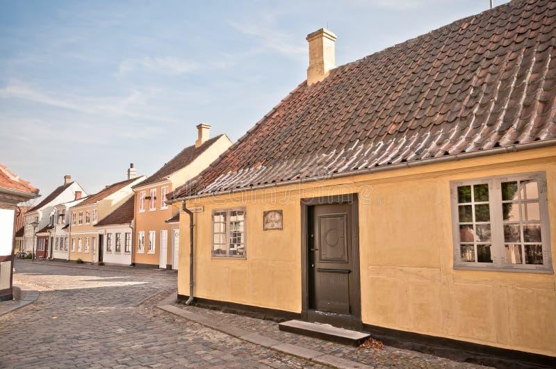 Casa de Hans Christian Andersen fotografia de stock