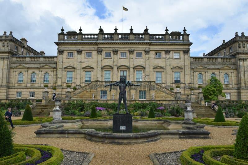Casa de Harewood, Leeds, West Yorkshire, Reino Unido fotografía de archivo libre de regalías