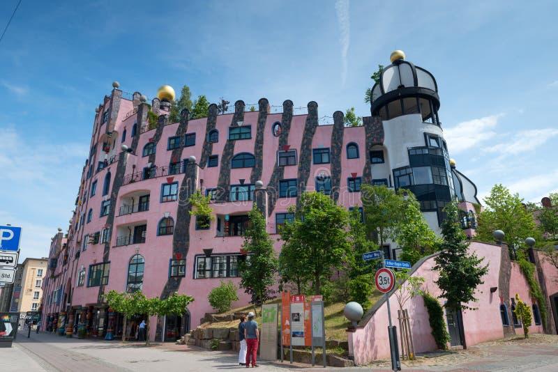 Casa de Hundertwasser fotografía de archivo